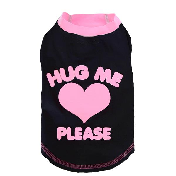 DoggyDolly T235 Shirt HUG ME schwarz