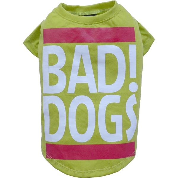 DoggyDolly T537 Shirt Bad Dogs grün Huindeshirt