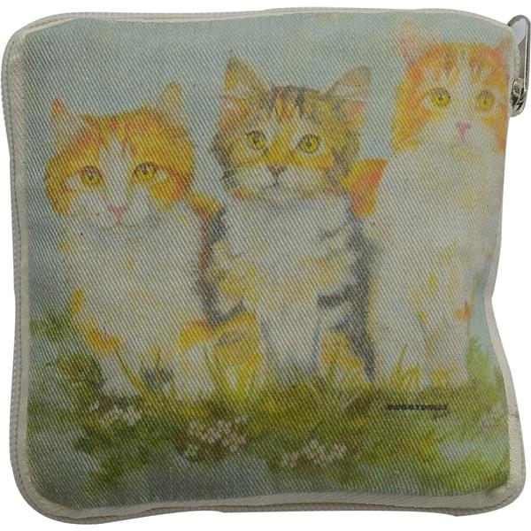 DoggyDolly LB011 Shopping Bag Cats 37x37cm